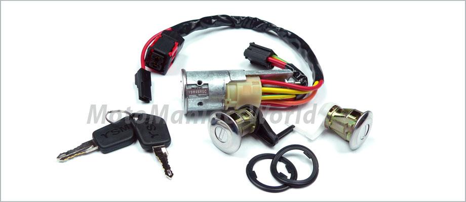 peugeot 206 1998 lock set door barrels keys ignition. Black Bedroom Furniture Sets. Home Design Ideas