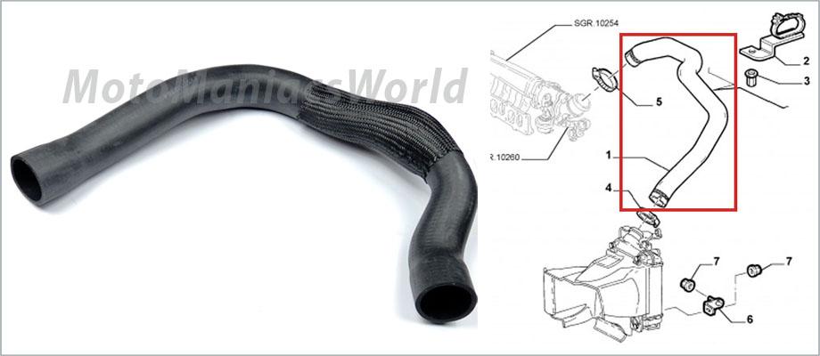 alfa romeo 147 156 saloon sportwagon 1 9jtd jtd tubo intercooler turbo nuevo ebay. Black Bedroom Furniture Sets. Home Design Ideas